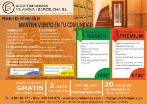 MANTENIMIENTO COMUNIDADES A4